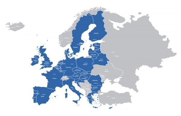 The European Union currently has 28 member states
