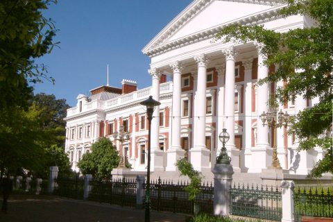 South African parliament in Cape Town