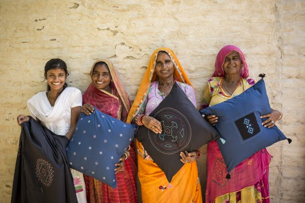 Ikea is working with women's worker co-ops in rural India