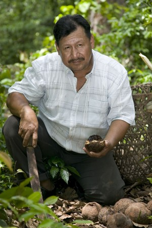A Liberation Foods producer in Bolivia
