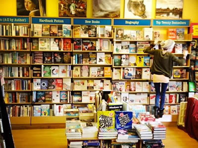 October Books in Southampton. [photo: October Books]