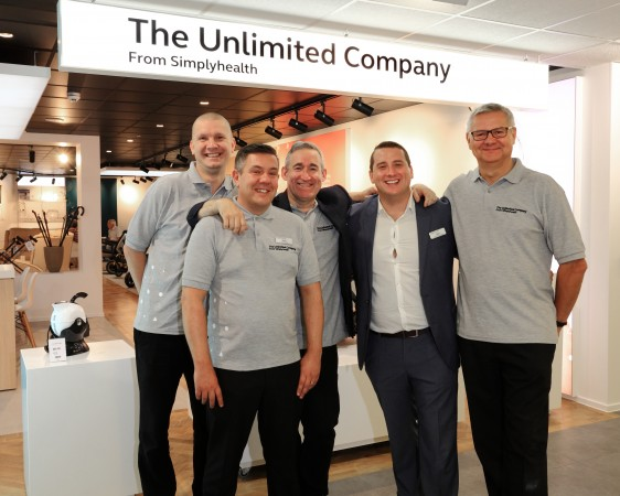 The team at the new mobility shop
