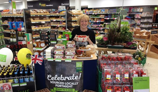 East of England's Coggeshall store during Sourced Locally Fortnight