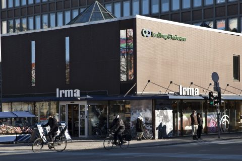 Irma supermarkets run by Coop Denmark will initially be selling 40 Waitrose products [photo: Irma]