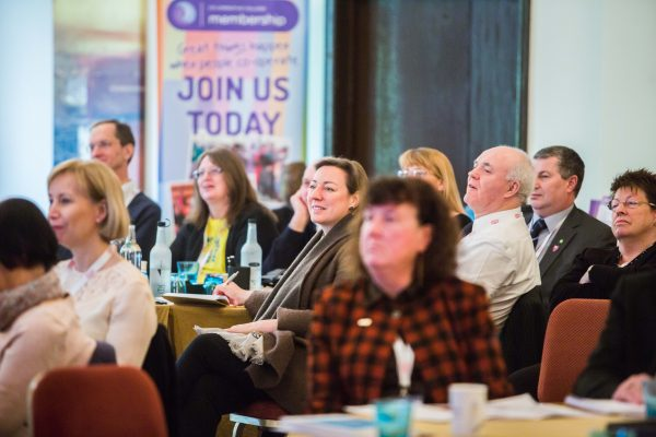 Delegates at the 2016 Co-operative Retail Conference (Photograph: Co-operatives UK)
