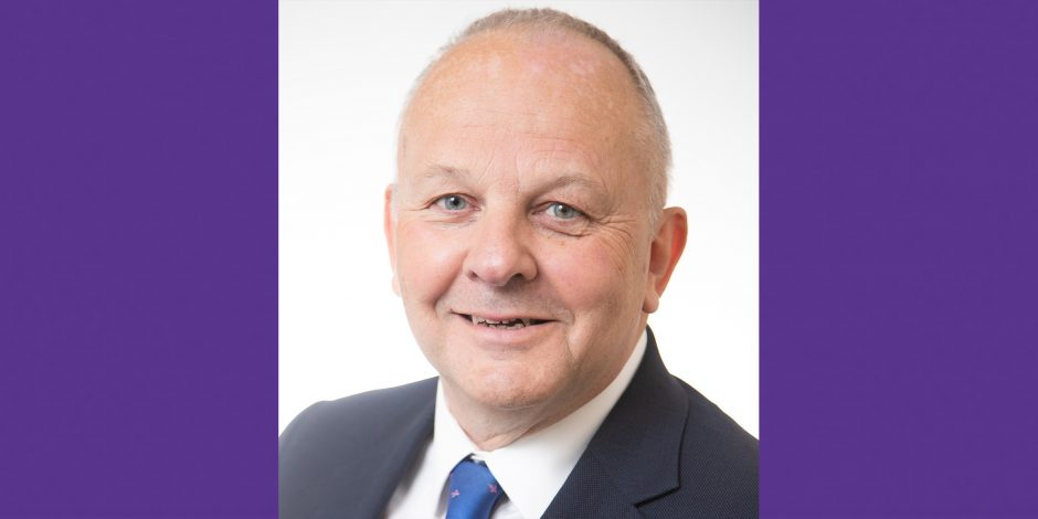 A picture of John Chillcott, who has been appointed interim chief executive of the Co-operative College