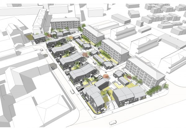 Rochdale Boroughwide Housing's development at Lower Falinge is scheduled to be completed in November