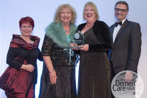 East of England Co-op received Dementia Care national Award
