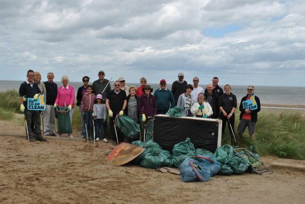 Lincolnshire Co-op staff and members took part in clean up events across the area, including at Huttoft Beach near Chapel St Leonards, as part of the Co-operatives Fortnight.