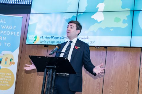 Andy Burnham announces the new rates
