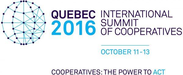 Logo of the 2016 International Summit of Cooperatives