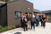 RBH representatives with members of the local community at Lower Falinge, Rochdale.
