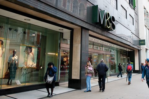 Marks & Spencer has a set of ambitious sustainability goals for 2020