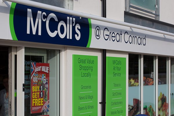 McColl's store front 1