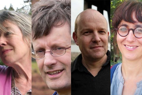 The New Weather Institute: Lindsay Mackie, David Boyle, Andrew Simms and Sarah Burns
