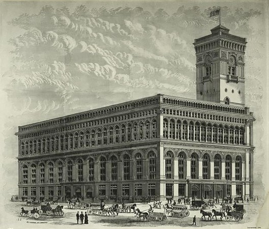 The CWS moved its New York HQ into the Produce Exchange Building in 1883