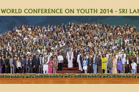 The World Conference on Youth 2014 took place in Colombo, Sri Lanka