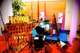 Miatralvia plays homemade instruments recycled from rubbish
