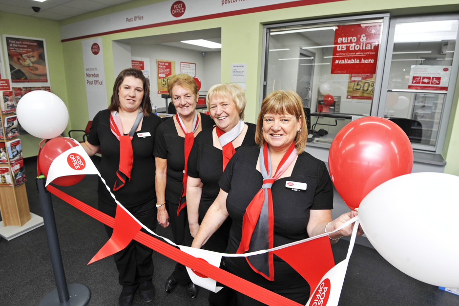The new post office within Scotmid's Morden store