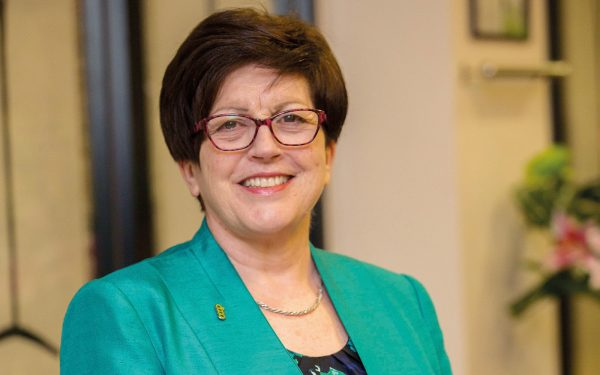 Dame Pauline Green will stand down as Alliance president after the November conference in Atalya