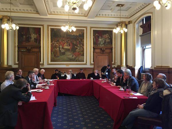 Public meeting between co-operators and representatives at Edinburgh City Council