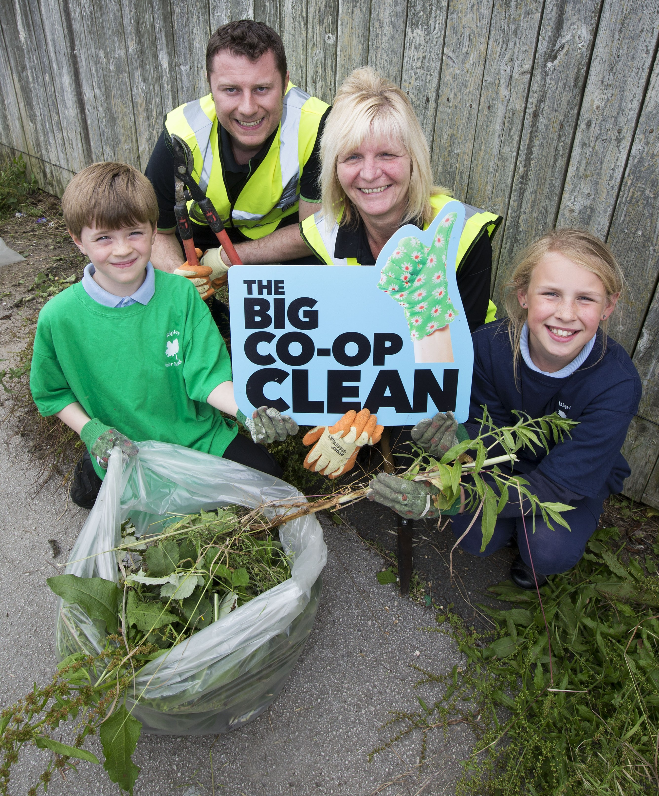 Central England's Big Co-op Clean in Ripley demonstrated how co-ops have working for the benefit of communities in their DNA