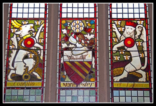 Rochdale town hall stained glass (Flickr/Russell Lee Photography)