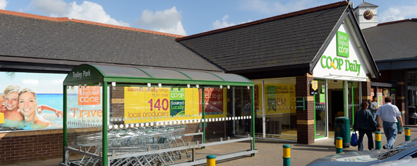 East of England Co-op's store at Rosehill, Ipswich