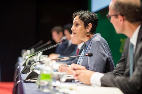 Sanghera Jyoti speaking at the 2016 WHRC Forum