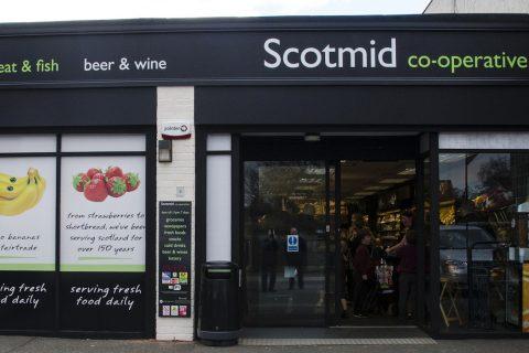 Scotmid's store in Barnton