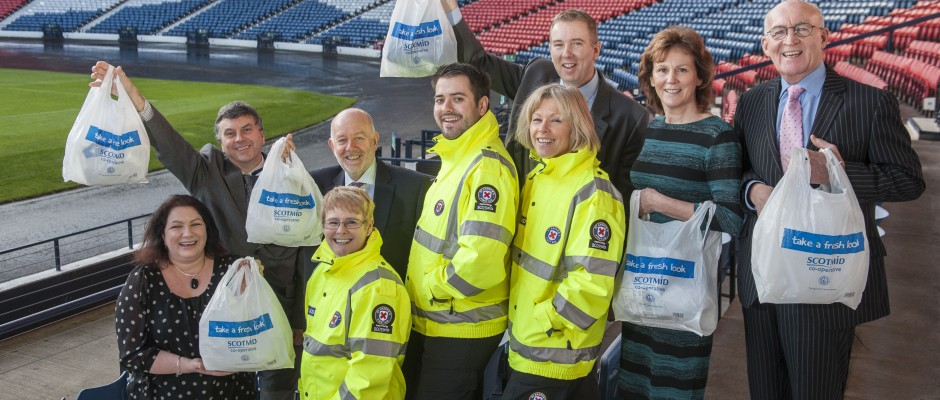 Scotmid donates money from carrier bags to first aid charity