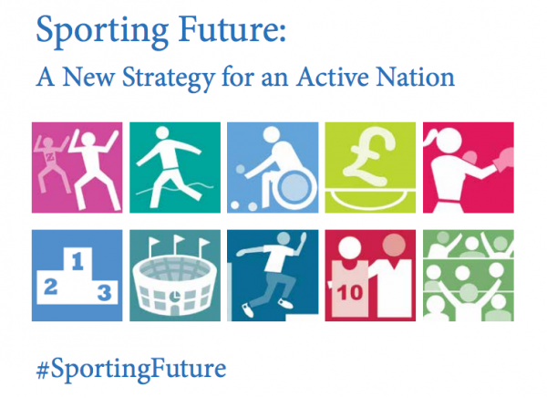 The government's new sports strategy was published on 17 December 2015