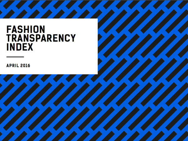 The Fashion Transparency Index