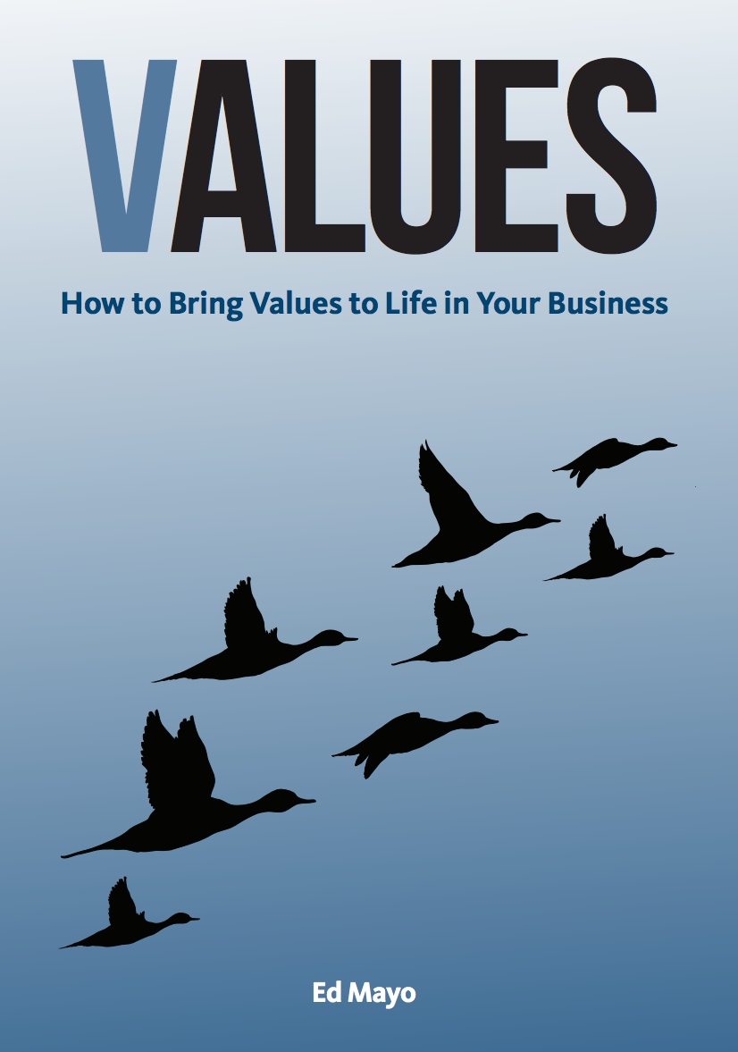 Values, published by Greenleaf