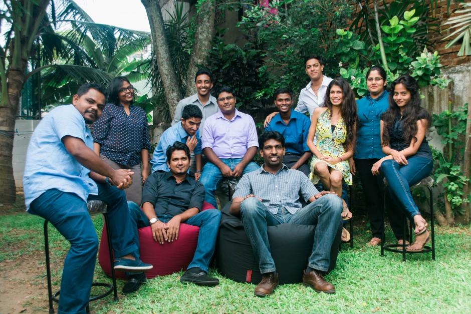 The Small Axe Colombo team