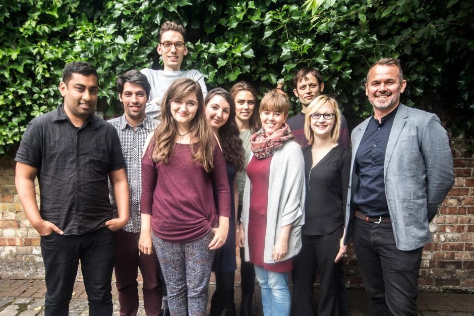 The Small Axe London team