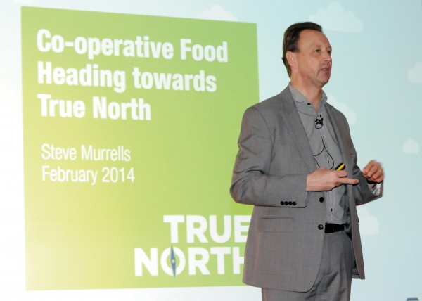 Steve Murrells, chief executive – retail at the Co-operative Group
