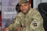 Lance Sergeant Beharry – who became the first living recipient of the Victoria Cross since 1969 for saving the lives of his comrades in Iraq – joins London Mutual Credit Union.