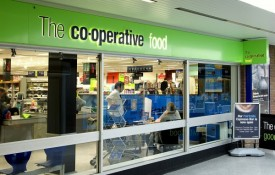Co-operative Food stores have seen a rise in sales as customers use them more as a convenience retailer