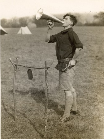 Image from a Woodcraft Folk camp in 1928