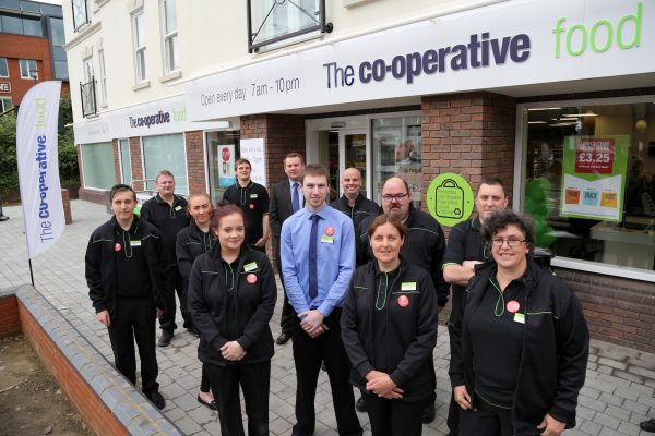 The Southern Co-operative's new food store in Reigate [photo: James Boardman]