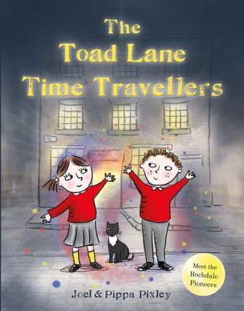 The Toad Lane Time Travellers teaches children the reasons behind the first co-operative