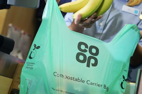 The Group's compostable carrier bag