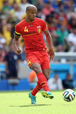 Manchester City defender Vincent Kompany will hope to keep Argentina at bay for Belgium (image: AGIF/Shutterstock.com)