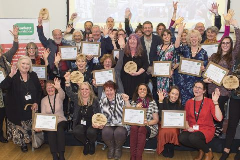 The winners and runners up at this year's Rural Community Ownership Awards