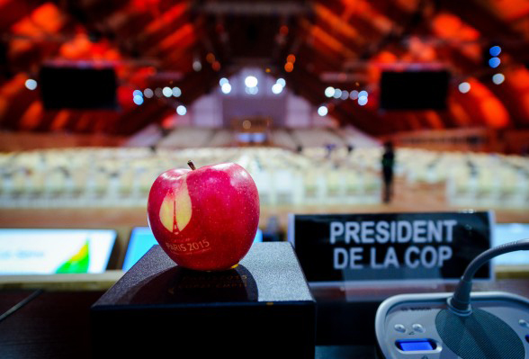 The Paris Climate Change meetings in November/December 2015 [photo: Arnaud Bouissou]