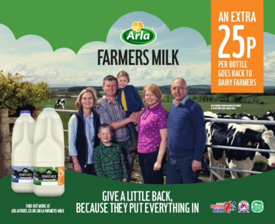 The new scheme from Arla Foods and Asda