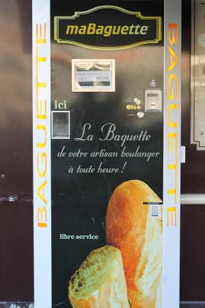 A baguette vending machine in France. [photo: Flickr/ElPadawan]