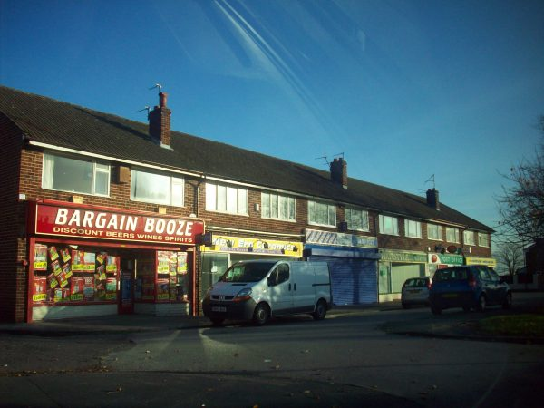 A Bargain Booze store in Merseyside. Its owner, Conviviality Retail, has a franchise agreement in Scotland with Scotmid Co-op society. [photo: Flickr/Secret Pilgrim]