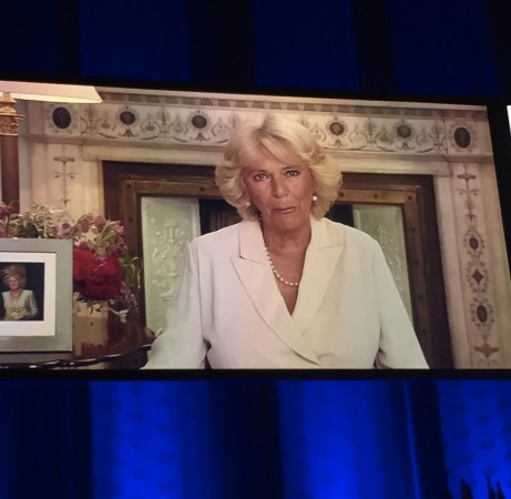 A video message in support of credit unions from the Duchess of Cornwall [photo: Woccu]